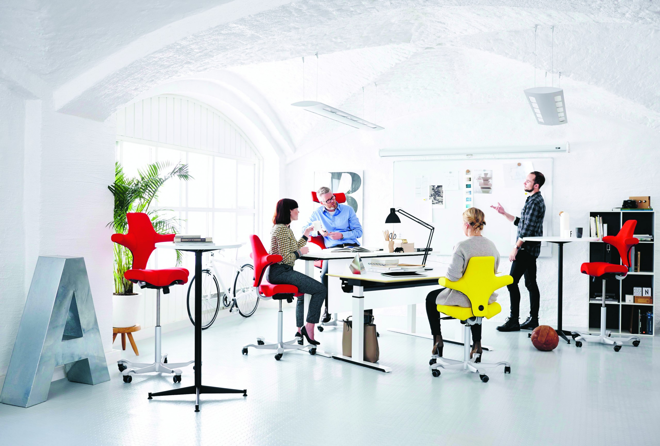 Capisco Office | Huddle Furniture