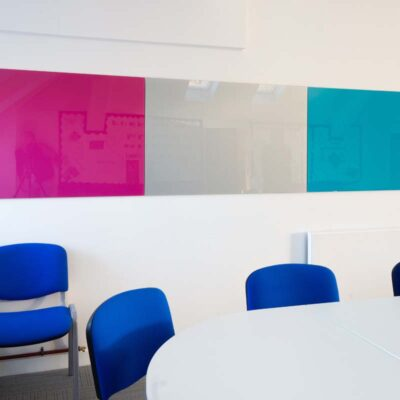 Glass Boards in School Staffroom | Huddle Furniture