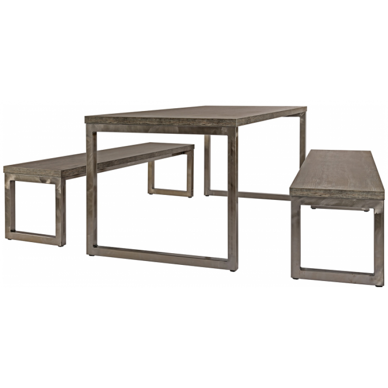 Axiom Rustic Canteen Table Shop Now At Huddle Furniture