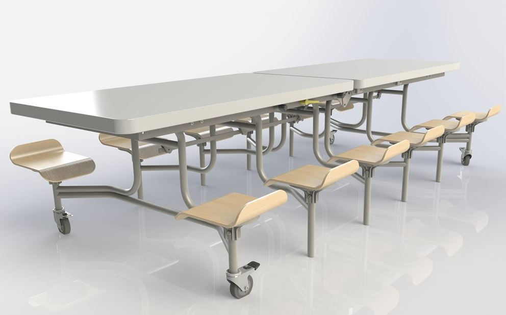 Spaceright Primo Folding Dining Units From Huddle Furniture