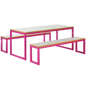 Urban Bench Dining Set