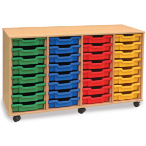 32 Shallow Drawer Unit