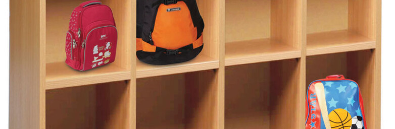 Bag Storage With 8 Compartments