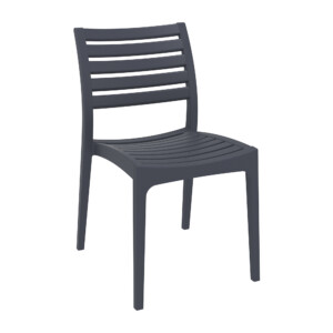 Ares Side Chair Dark Grey